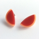 red pale orange studs