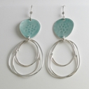 Flotsam Earrings sea-glass