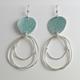 Flotsam Earrings Sea-Glass