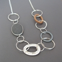 Pebble Hoop Necklace