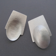 concave/convex earrings