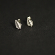 small folded bud studs