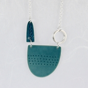 Tidal Necklace light teal