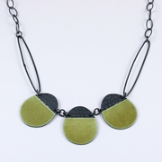 Buoy necklace green
