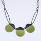 Buoy Necklace Olive Green