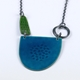 Tidal Necklace Teal/Green