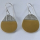 Island Drop Earrings Yellow