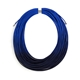 Ombre Blue Coil Necklace