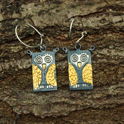 owl earrings 3