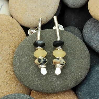 seaside earrings no.9, 1