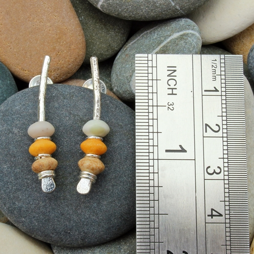 arc earrings, light colour no.7A,3