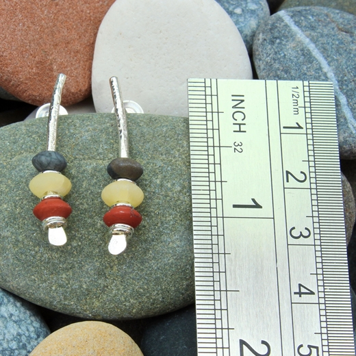 seaside earrings no.8, 3