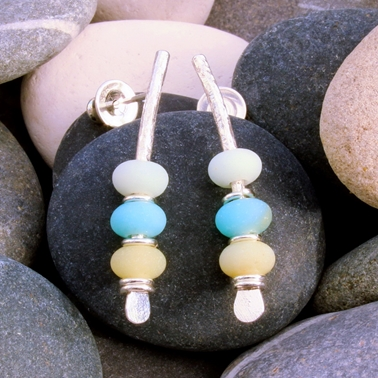 Seaside earrings no.10, 1