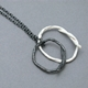 double string loop pendant oxi