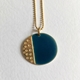 Island Pendant small Blue