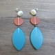 long drop leaf earrings