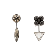 Mismatched Detachable Drop Earrings