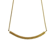 Sync Necklace 18ct Gold Vermeil
