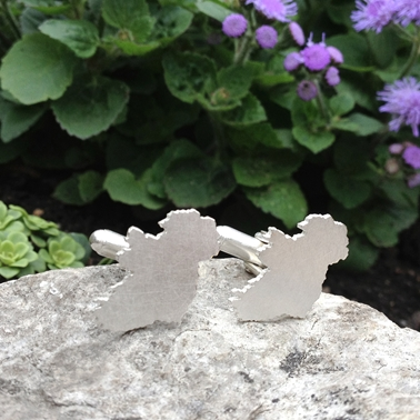Ireland Outline Cufflinks
