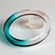 jade dip dyed bangle
