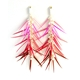 Mixed Pinks Chandelier Earrings