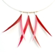 Mixed Pinks 3 Piece Symmetrical Necklace