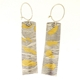 Keum boo large razor shell earrings