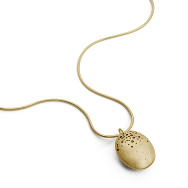Hollow dome necklace