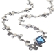 Lamella Blue Topaz Necklace