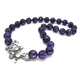 Lamella Faceted Amethyst T-bar Necklace