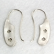 Large Click spring drop earrings