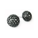 Large Sphere Stud Earrings