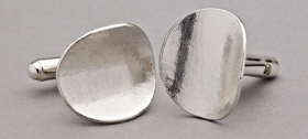Latham & Neve - Silver Honesty Cufflinks