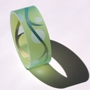 pale green bangle, main image