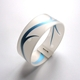 Bangle with blue detail