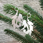 Leafy Scroll Earrings