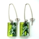Lime Grass earrings