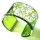 Lime star leaf cuff