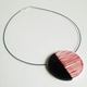 red Line Up necklace 02