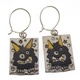 Little black monster earrings1