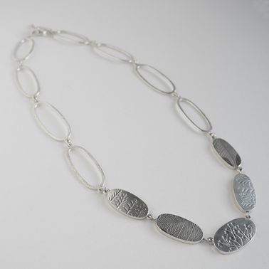 long ovals necklace