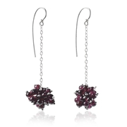 Long Berries Drop Earrings