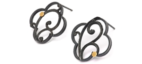 Marianne Anderson - Quatrefoil Frame Earrings