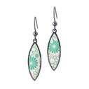 marquis earrings turquoise