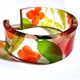 Meadow Floral 25mm Cuff (side)