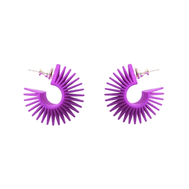 Mini Hoop Purple