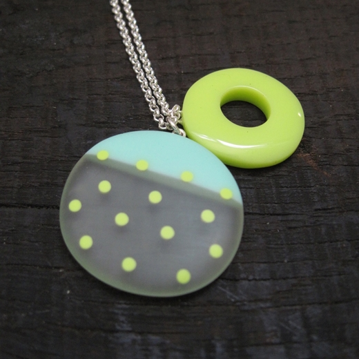lime mix up pendant 2