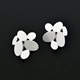 Mixed ovals earrings