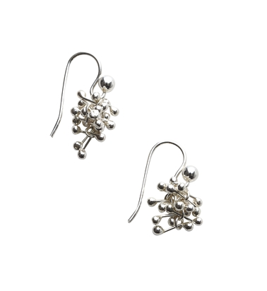 Silver Small Drop Earrings