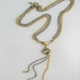 Mini loveknot triple strand necklace